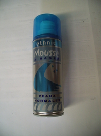 Mousse à raser Ethnic 200mL