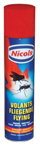 6 bombes insecticides volants